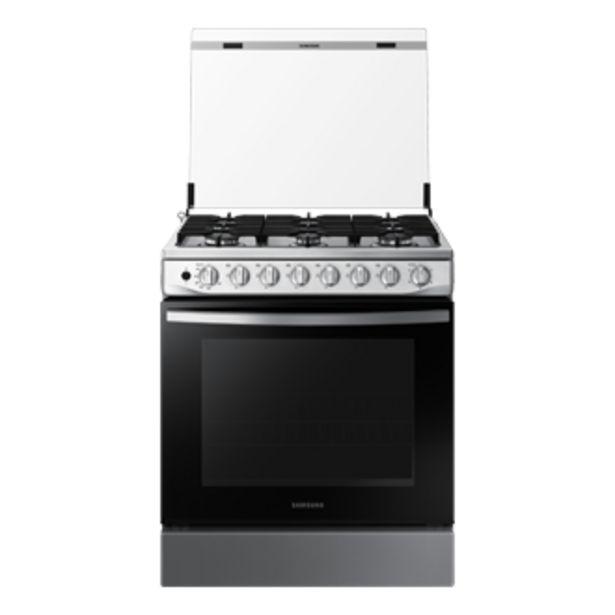 Oferta de Cocina a Gas NX52T5311PS,  <br> 6 hornillas Black Smog por S/ 1449