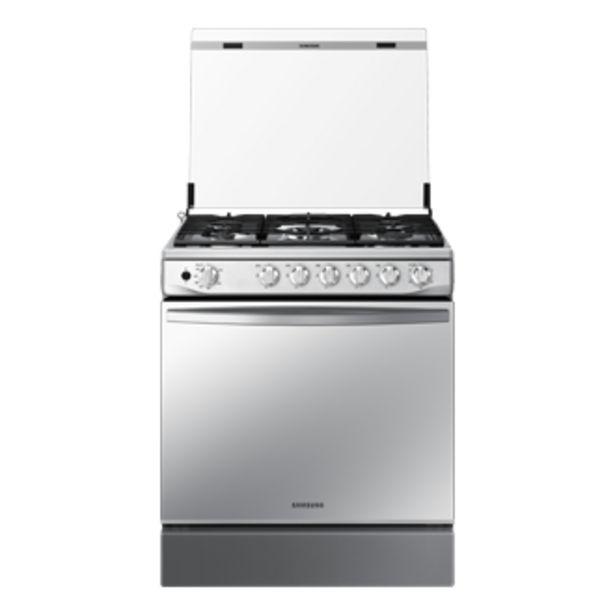 Oferta de Cocina a Gas NX52T7322PS,  <br> 5 hornillas Mirror Look por S/ 1699