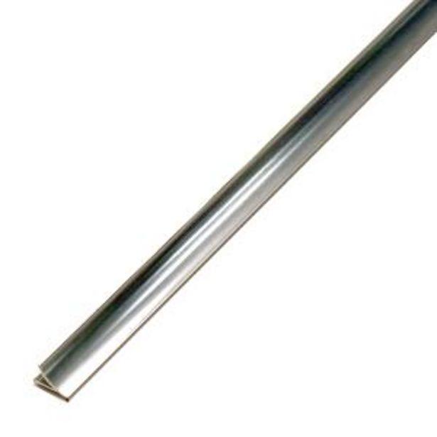 Oferta de Listelo Pro Sanit Plateado Brillante - 1.6X250 cm por S/ 122,5