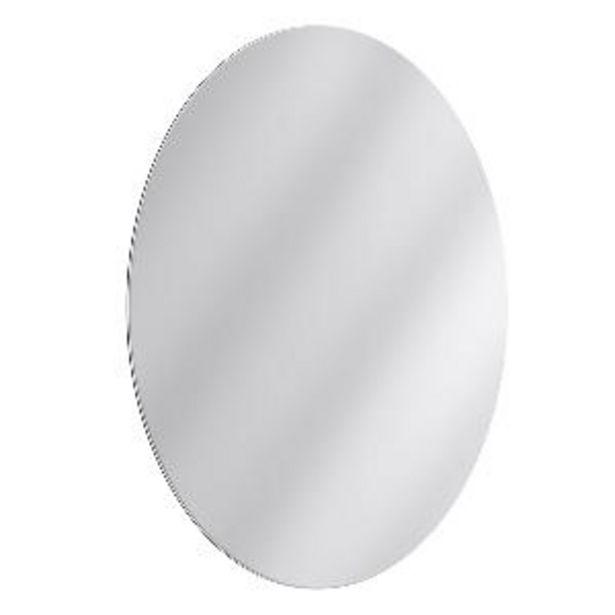 Oferta de Espejo Oval Cristal Pulido por S/ 74,21