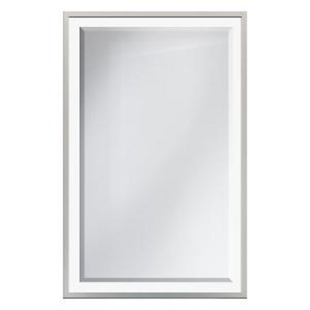 Oferta de Espejo Cisne Cristal Arenado por S/ 101,12