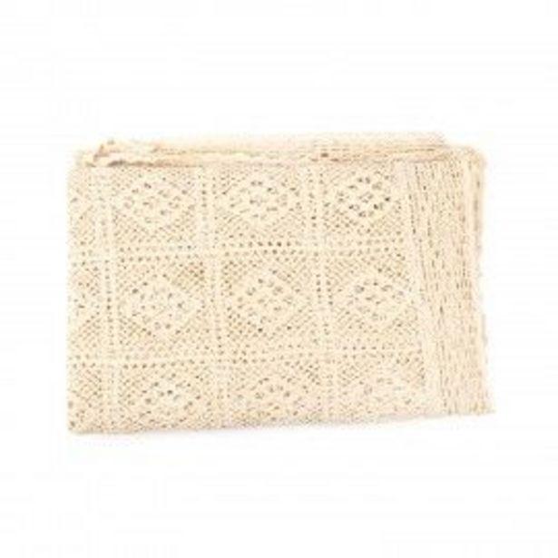 Oferta de Mantel a Crochet Beige por S/ 141,96