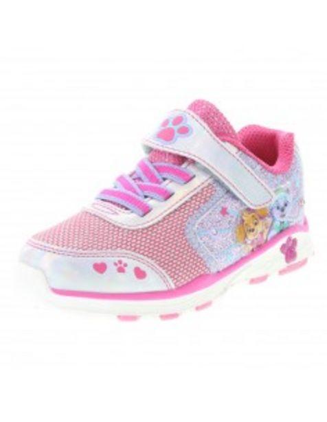 Oferta de Zapatos para correr con luces de Paw Patrol para niñas pequeñas por S/ 124,9