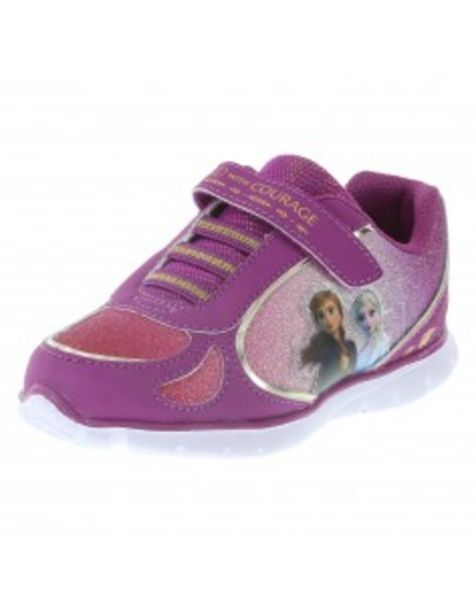 Oferta de Zapatos para correr Frozen para niñas pequeñas por S/ 94,9