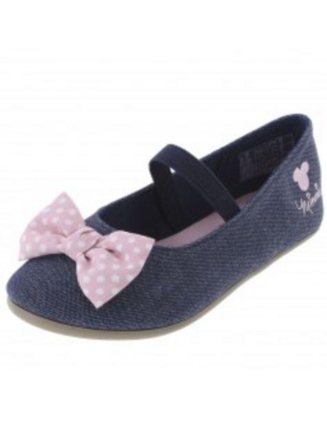 Oferta de Zapatos Bow Minnie para niñas pequeñas por S/ 34,9