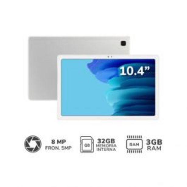 "Oferta de Tablet Samsung 10.4"" Octa-Core Galaxy Tab A7 Wifi 3Gb 32Gb Plata por S/ 1199"