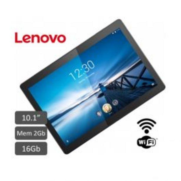 "Oferta de Tablet Lenovo 10.1"" Qualcomm Sdm429 Tab M10 2Gb 16Gb Negro por S/ 399"