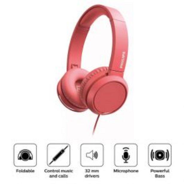 Oferta de Audífonos Philips Tah4105Rd por S/ 100
