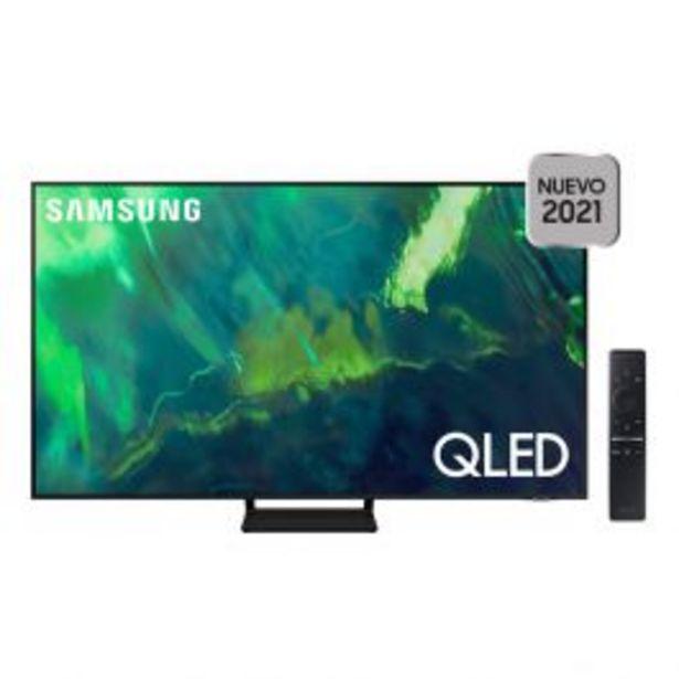 Oferta de Televisor 65'' Samsung Qled 4K Smart Qn65Q70Aagxpe (2021) por S/ 4599