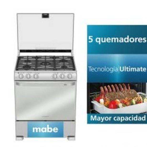 Oferta de Cocina A Gas Mabe Eme7685Cfyx0 30'' Inox 5 Hornillas por S/ 2119