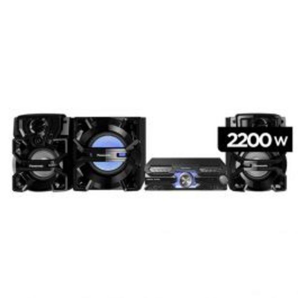 Oferta de Equipo De Sonido Panasonic Sc-Akx910Puk 2200W por S/ 1449