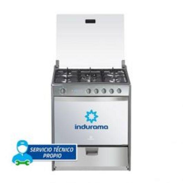 Oferta de Cocina A Gas Indurama Montecarlo Quarzo 32'' 5 Hornillas por S/ 2299