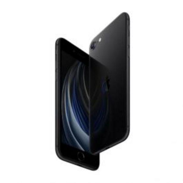 "Oferta de Tel Cel Apple Iphone Se 2020 4.7"" 3Gb 128Gb 12Mp Negro por S/ 2799"