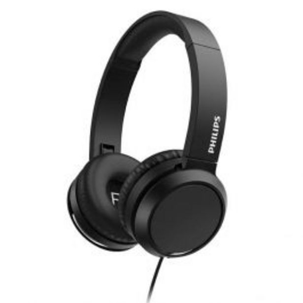 Oferta de Audífonos Philips Tah4105Bk por S/ 100
