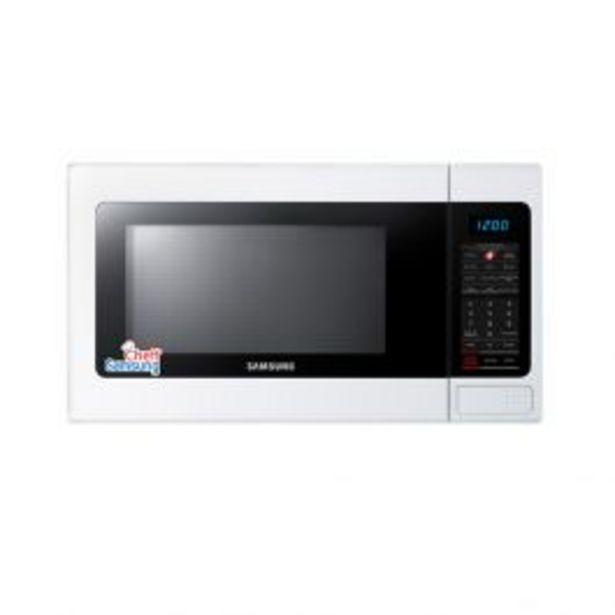 Oferta de Horno Microondas Samsung Ame1114Tw 32L Blanco por S/ 349
