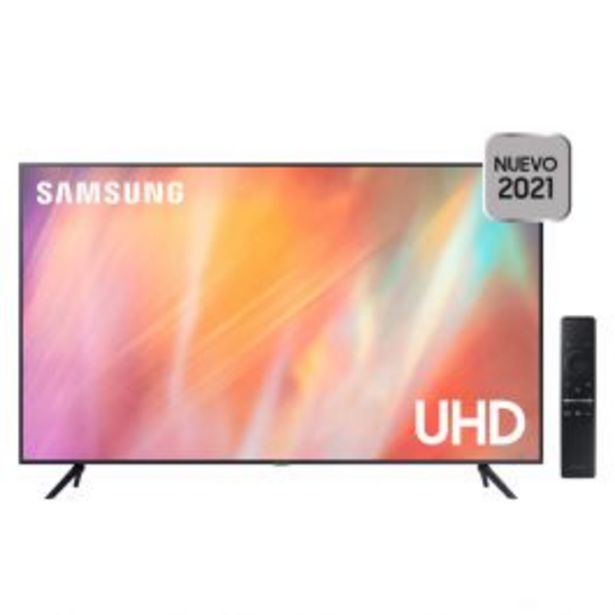 Oferta de Televisor 60'' Samsung Led 4K Ultra Hd Smart Un60Au7000Gxpe (2021) por S/ 2599