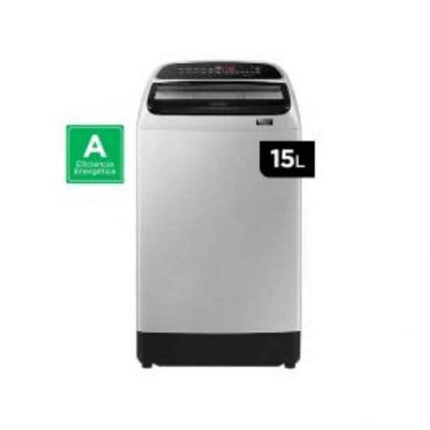 Oferta de Lavadora Automatica Samsung Wa15T5260By/pe 15K Gris por S/ 1399