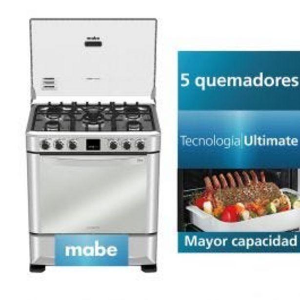 Oferta de Cocina A Gas Mabe Cmp7670Fx0 30'' Inox  4 Hornillas por S/ 2499