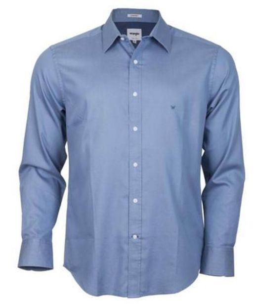 Oferta de Camisa para Hombre WRANGLER SHIRT LS SOLID COMFORT DN por S/ 113,4