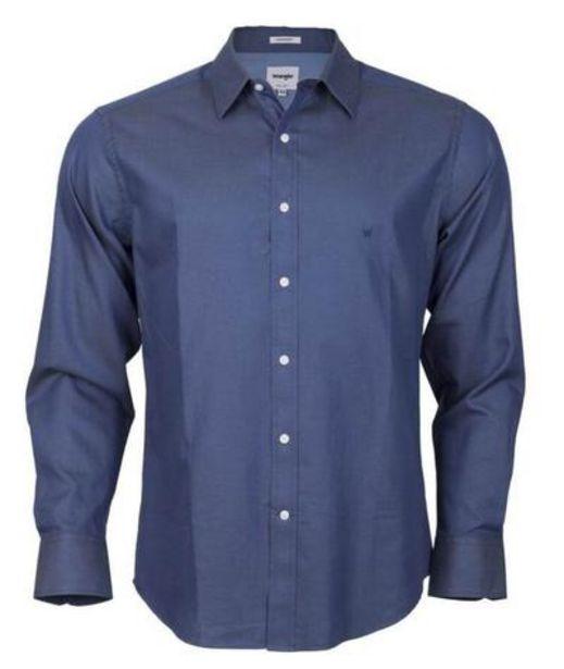 Oferta de Camisa para Hombre WRANGLER SHIRT LS SOLID COMFORT DD por S/ 113,4