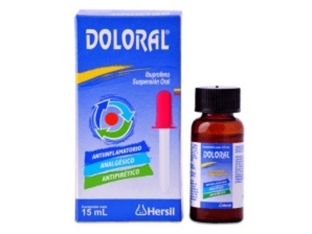 Oferta de Doloral 40 mg/mL Suspensión oral gotas por S/ 12,8