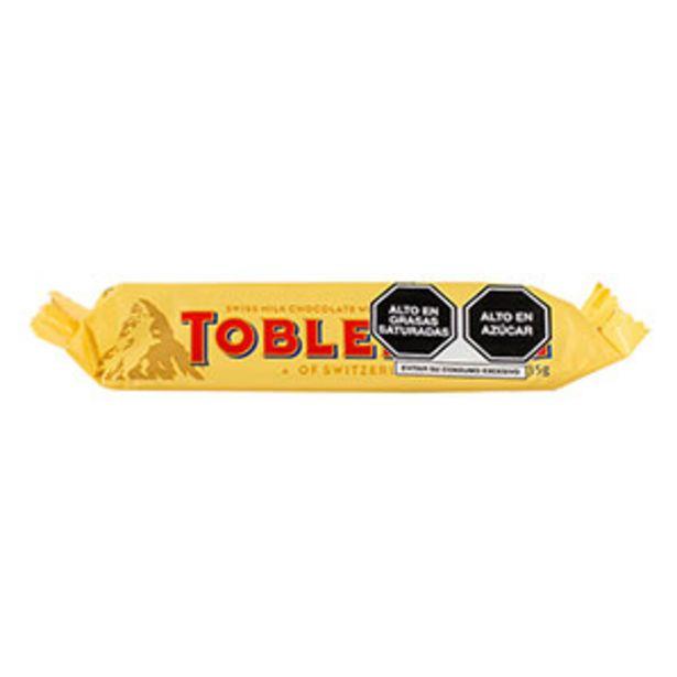 Oferta de Chocolate de Leche Unidad Toblerone - Paquete 35 G por S/ 6,4