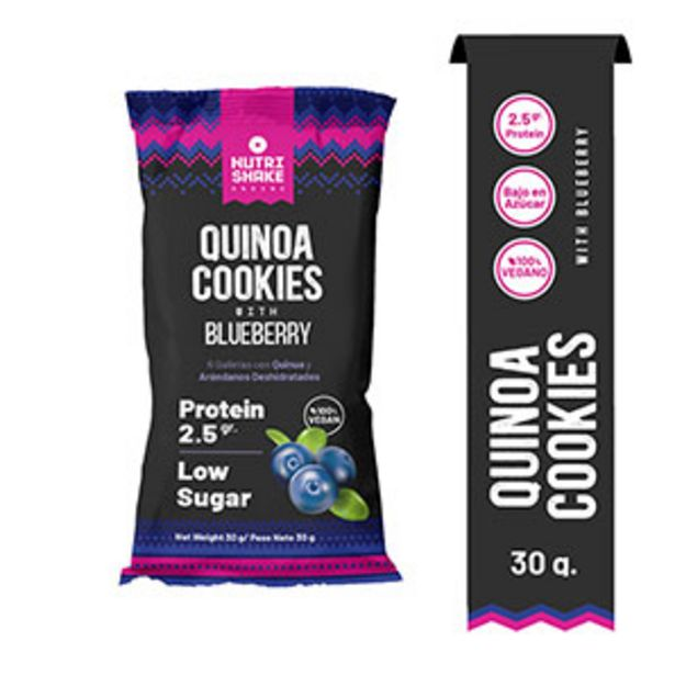 Oferta de Galletas Quinoa Cocki Blueberry - 30 G por S/ 1,7