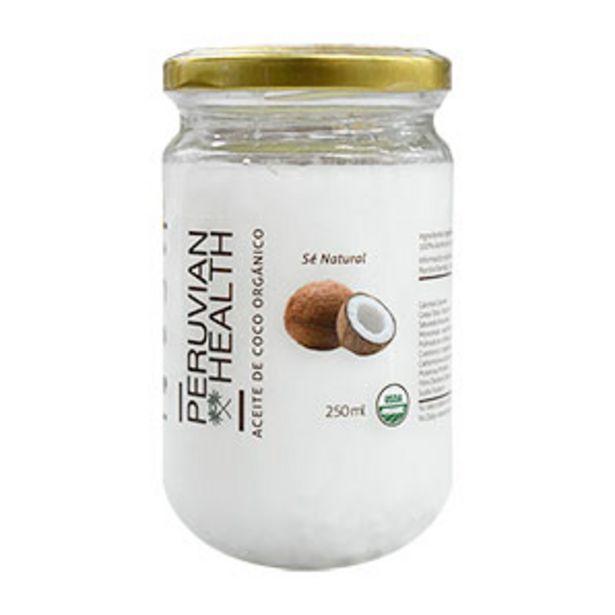 Oferta de Aceite de Coco Orgánico Peruvian Health - Pote 250 ML por S/ 25