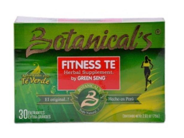 Oferta de Fitness Té Green Seng Filtrante por S/ 12,9