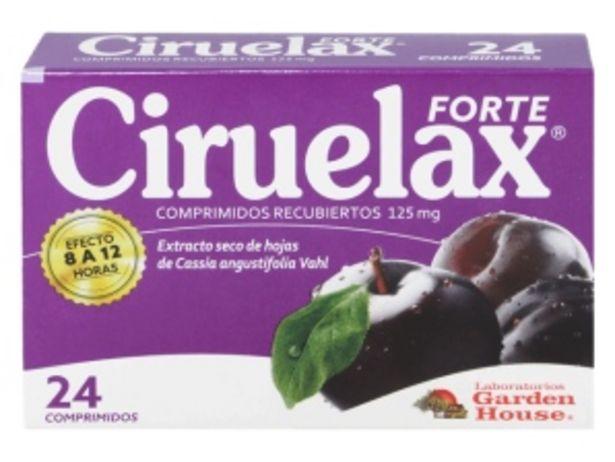 Oferta de Ciruelax® Forte 125mg Comprimido Recubierto por S/ 26,64