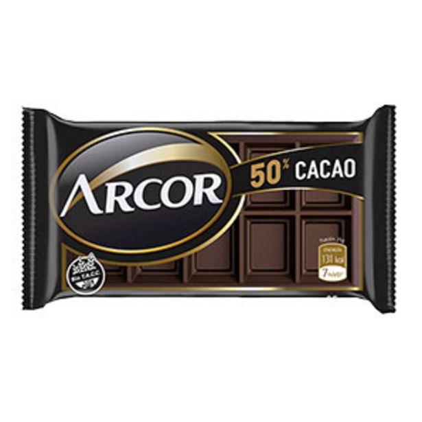 Oferta de Chocolate Arcor 50% Cacao por S/ 49,2