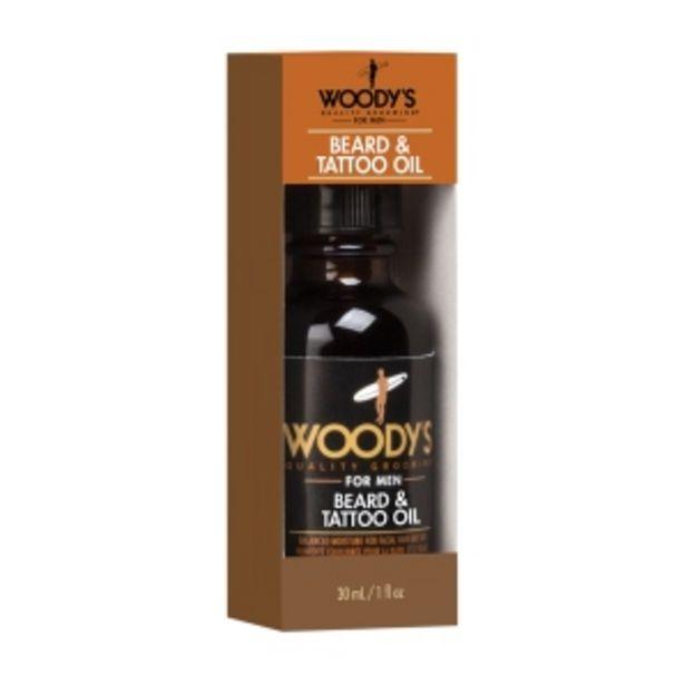 Oferta de Aceite para Barba Woodys For Men - Frasco 30 ML por S/ 52