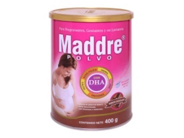 Oferta de Maddre DHA Sabor Chocolate - Lata 400 G por S/ 53