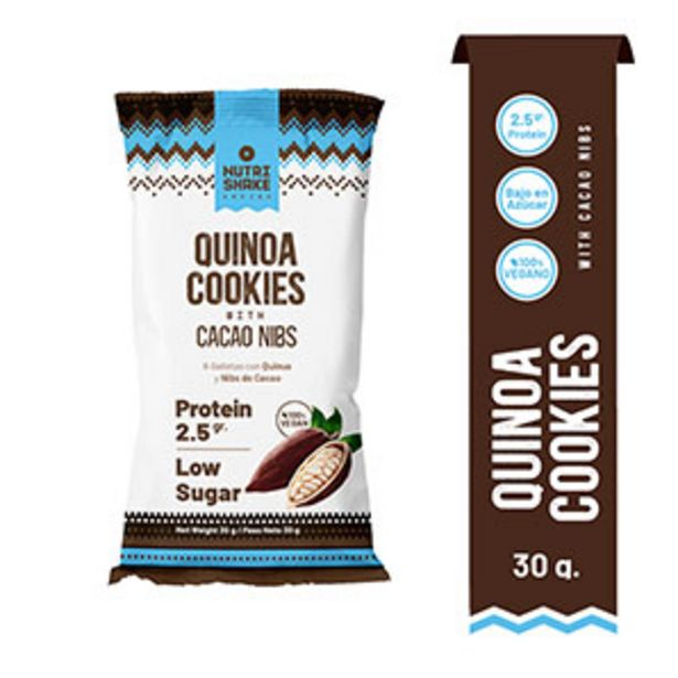 Oferta de Galletas Quinoa Cocki Cacao Nibs - 30 G por S/ 1,7