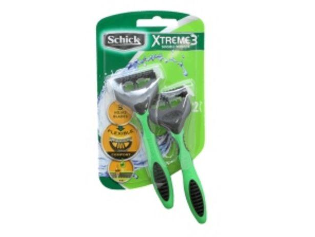 Oferta de Prestobarba Xtreme 3 Eco Schick - Blister 2 UN por S/ 9,9