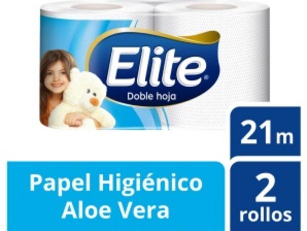 Oferta de Papel Higiénico Elite Doble Hoja - Paquete 2 UN por S/ 2,9
