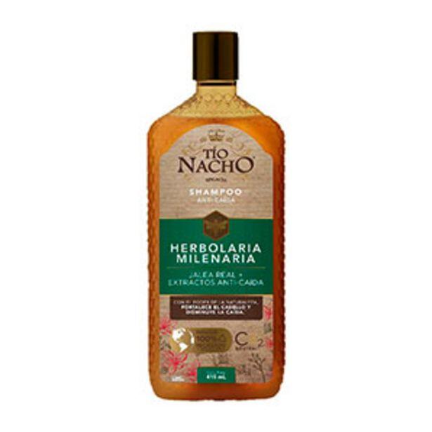 Oferta de Shampoo Tío Nacho Anti-Caída Herbolaria - Frasco 415 ML por S/ 22,9