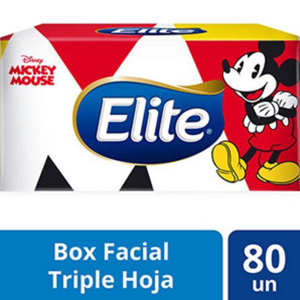 Oferta de Pañuelos Faciales Elite Disney Surtido - Caja 80 UN por S/ 6,4