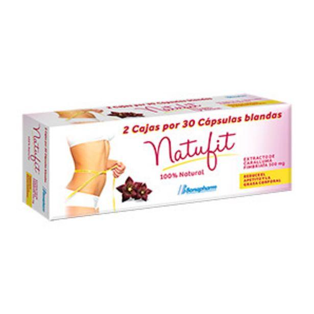 Oferta de Natufit 500mg Cápsulas blandas Packx2 por S/ 96,4