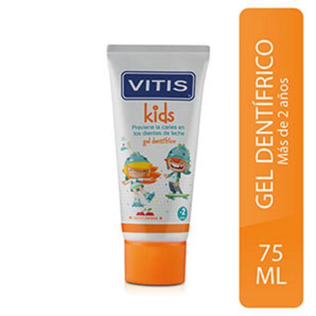 Oferta de Gel Dental Vitis Kids - Tubo 50 ML por S/ 16,5