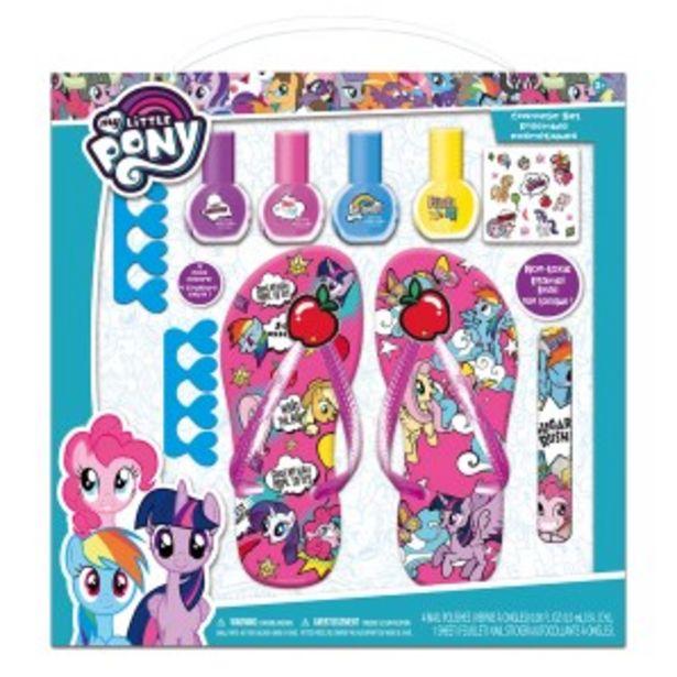 Oferta de Set de Pedicure para Niñas My Little Pony - Estuche 9 UN por S/ 59,9