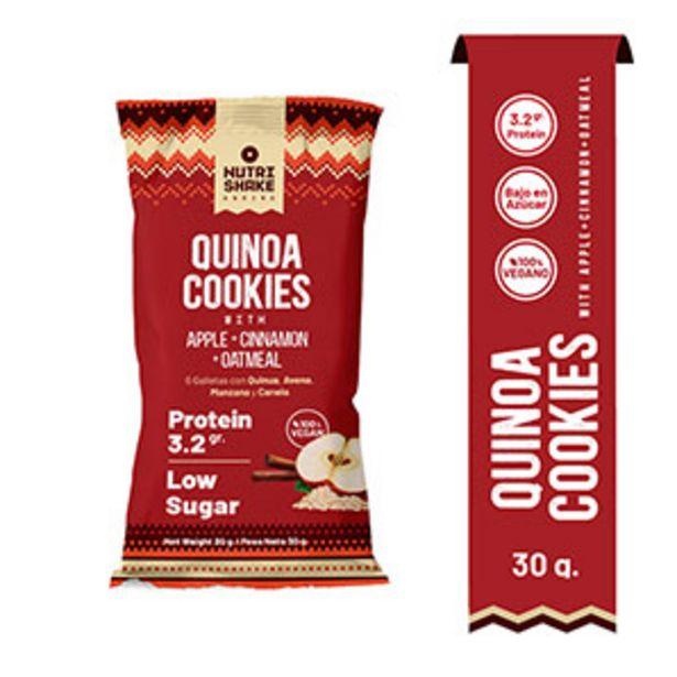 Oferta de Galletas Quinoa Cocki Apple + Cinnamon + Oatmeal - 30 G por S/ 1,7