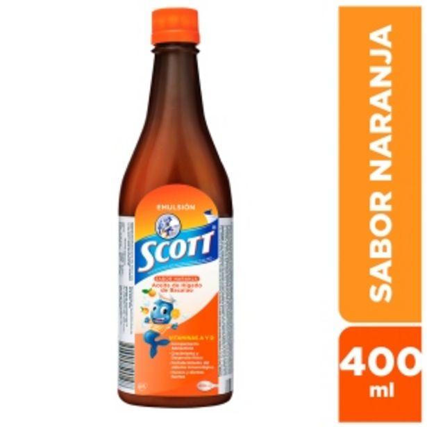 Oferta de Emulsión Scott DHA EPA Sabor Naranja por S/ 31,9