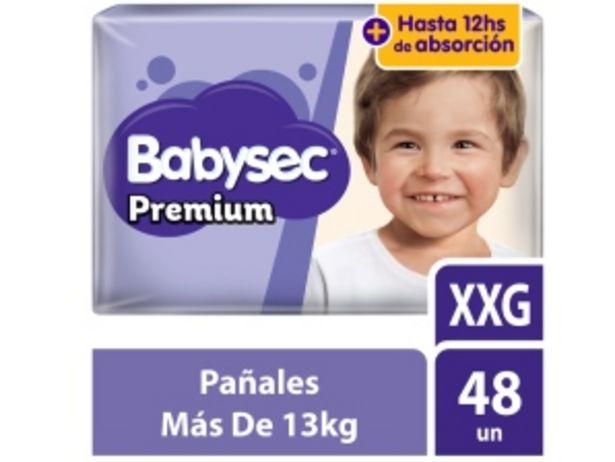 Oferta de Pañal Babysec Premium Super Mega Talla XXG - Bolsa 48 UN por S/ 42,9
