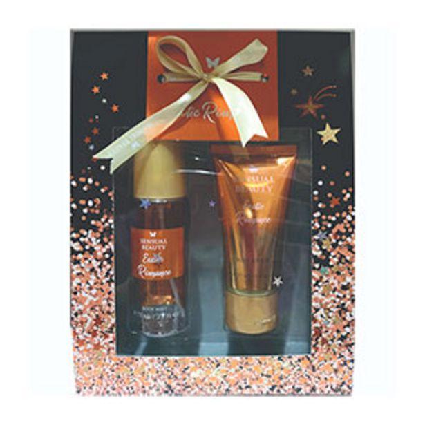 Oferta de Pack Sensual Beauty Body Mist + Body Lotion Exotic Romance - Pack 2 UN por S/ 10