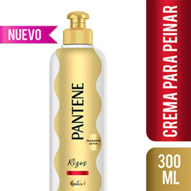 Oferta de Crema Para Peinar Rizos Definidos Pantene Pro-V - Frasco 300 ML por S/ 16,5