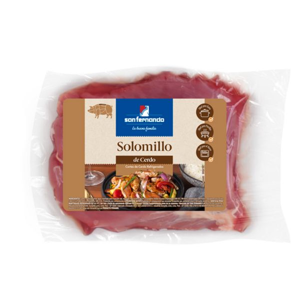 Oferta de Solomillo de cerdo x und  (Rango 0.60 a 0.80 kg) por S/ 22,2