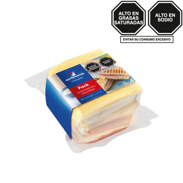 Oferta de Jamón sándwich 490 Gr + Queso edam 400 Gr por S/ 28,5