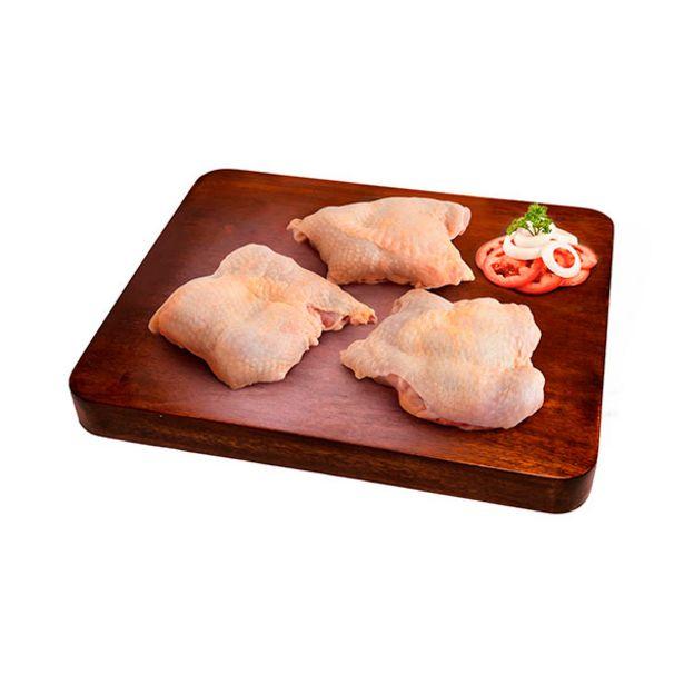 Oferta de Filete parrillero de pierna de pollo  con piel  bolsa rango 1.00 a 1.10 Kg por S/ 18,9