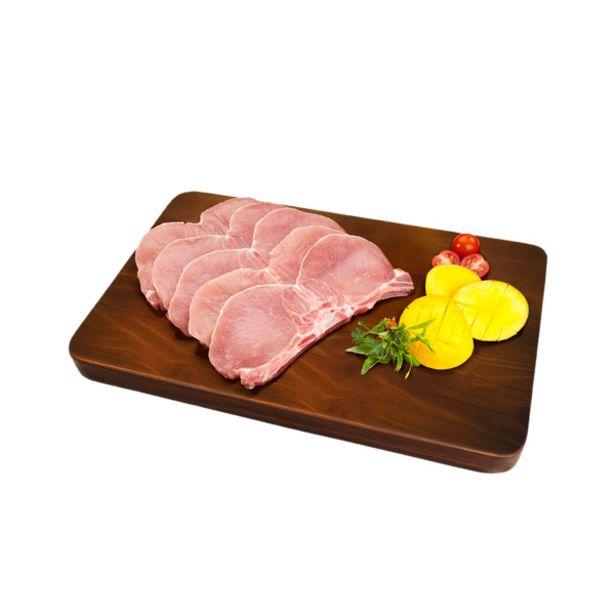 Oferta de Chuleta lomo de cerdo  (Rango 0.90 a 1.10 Kg) por S/ 23,8